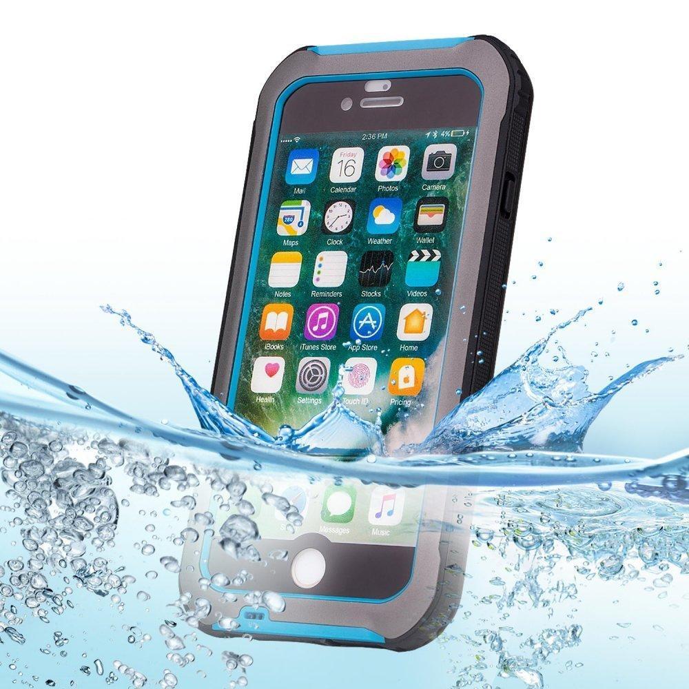 Чехол для iPhone 7/8 водонепроницаемый синий