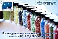 Вторичное полимерное сырье (полипропилен, полиэтилен, другое полимерное сырье и компаунды)
