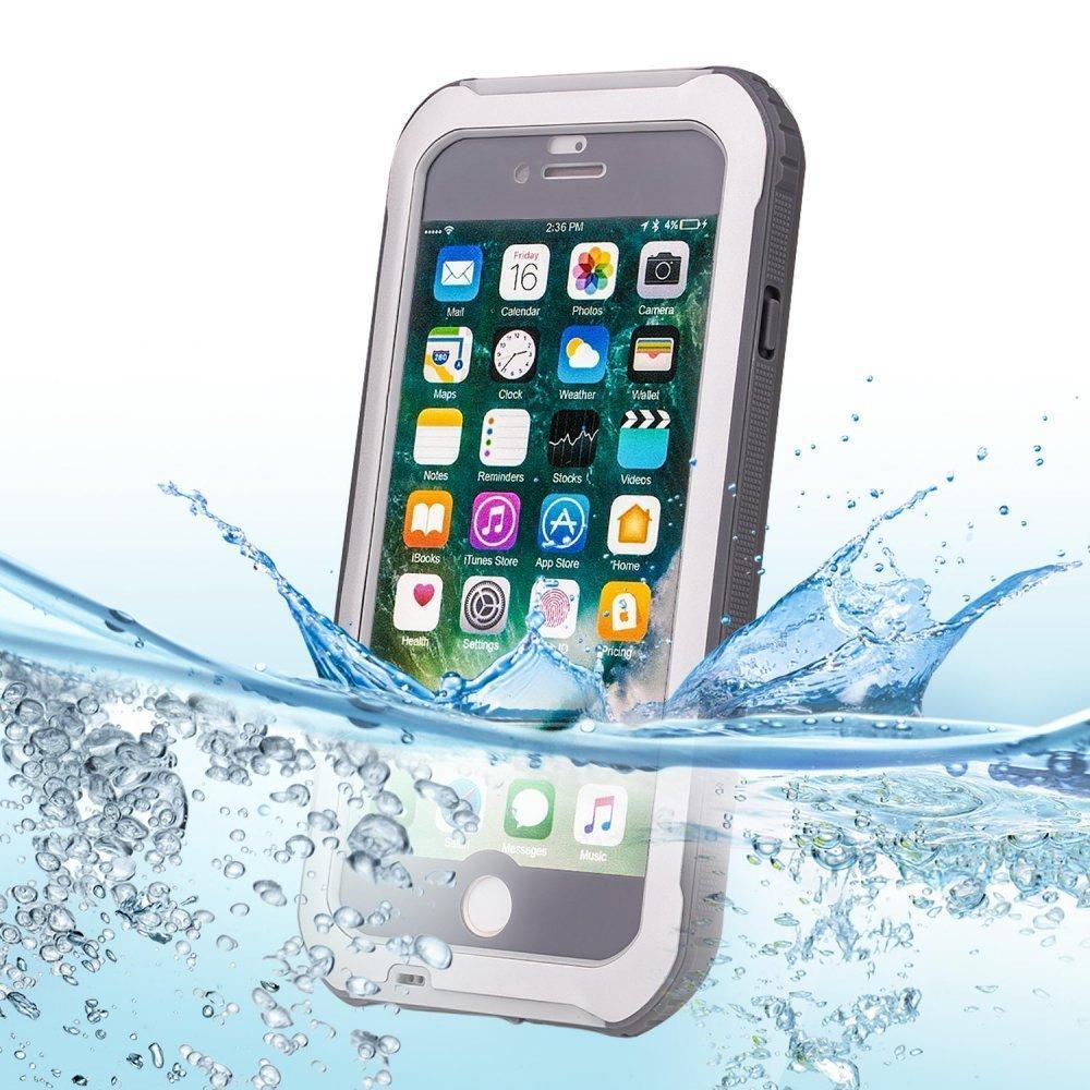 Водонепроницаемый чехол Bolish G747 серый для iPhone 7/8