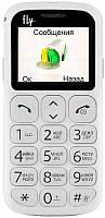 Кнопочный мобильный телефон Fly Ezzy7White