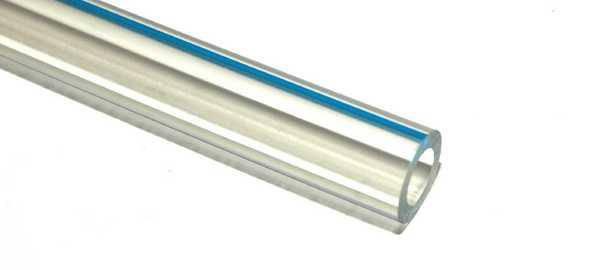 Шланг молочный прозрачный 12,7мм х 30м, PVC; запас ограничен, фото 2
