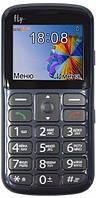 Кнопочный мобильный телефон Fly Ezzy8 Grey