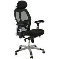 Кресло руководителя GAIOLA, black chrome (Джайола, черный) (9493)
