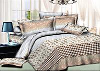 Комплект постельного белья евро ранфорс 100% хлопок. Постільна білизна. (арт.7906)