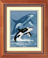 Набор алмазная мозаика Dream Art Касатка (квадратные камни, полная зашивка) (DA-30375) 17 х 24 см