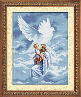 Картина из страз Dream Art Святой дух (квадратные камни, полная зашивка) (DA-30423) 42 х 55 см