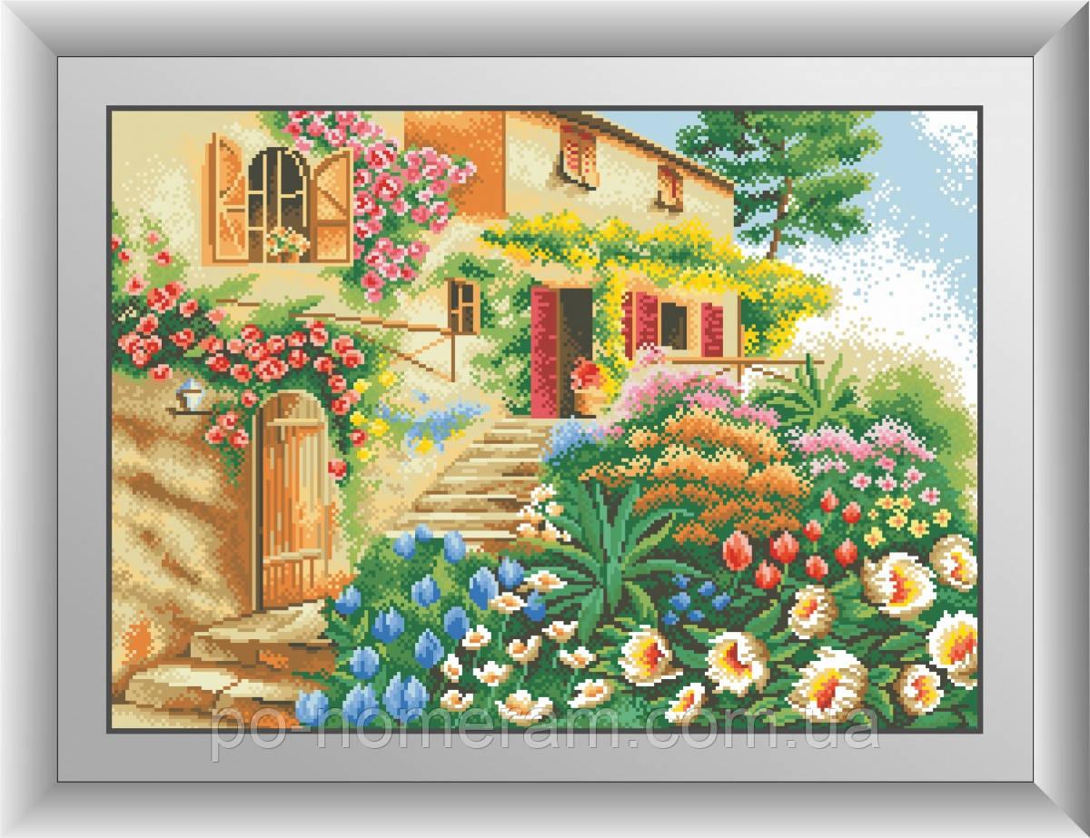 Алмазная живопись Dream Art Вилла (квадратные камни, полная зашивка) (DA-30426) 43 х 60 см (Без подрамника)