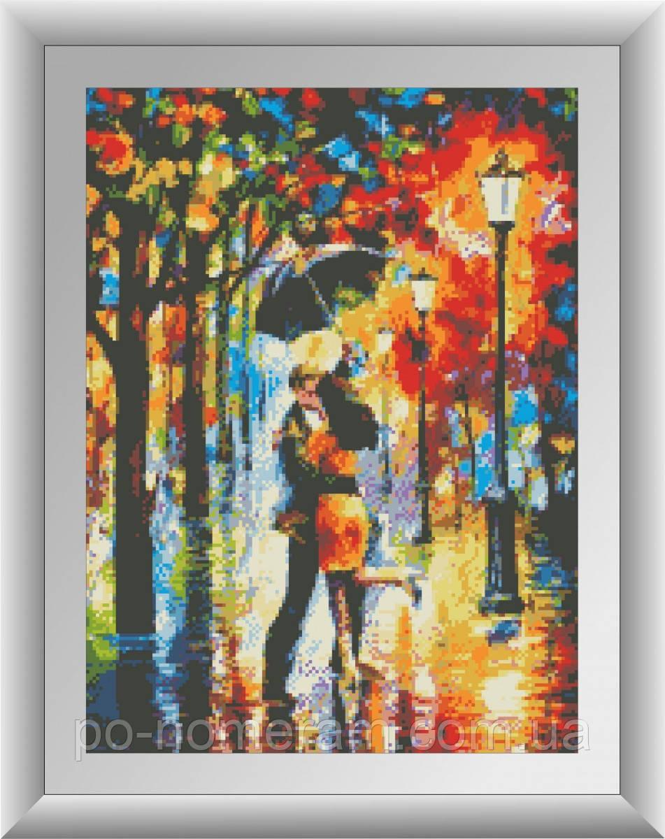 Алмазная мозаика Dream Art Танец под дождем (квадратные камни, полная зашивка) (DA-30436) 37 х 50 см (Без подрамника)