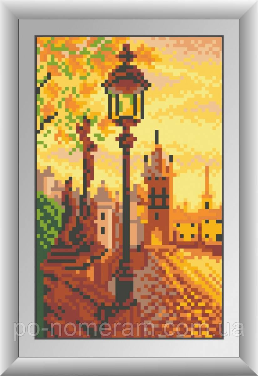 Алмазная живопись Dream Art Карлов мост (квадратные камни, полная зашивка) (DA-30448) 13 х 21 см (Без подрамника)