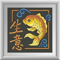 Картина из мозаики Dream Art Бизнес (квадратные камни, полная зашивка) (DA-30451) 32 х 32 см