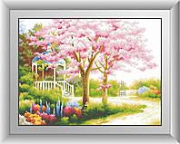 Алмазная вышивка Dream Art Весенний сад (квадратные камни, полная зашивка) (DA-30452) 41 х 55 см