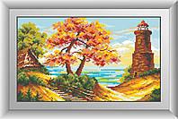 Картина алмазная вышивка Dream Art Морской пейзаж (квадратные камни, полная зашивка) (DA-30458) 26 х 44 см