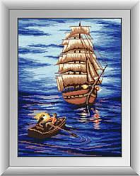 Алмазная вышивка Dream Art Отплытие (квадратные камни, полная зашивка) (DA-30465) 37 х 49 см