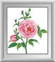 Набор алмазная вышивка Dream Art Нежная роза (квадратные камни, полная зашивка) (DA-30476) 35 х 40 см