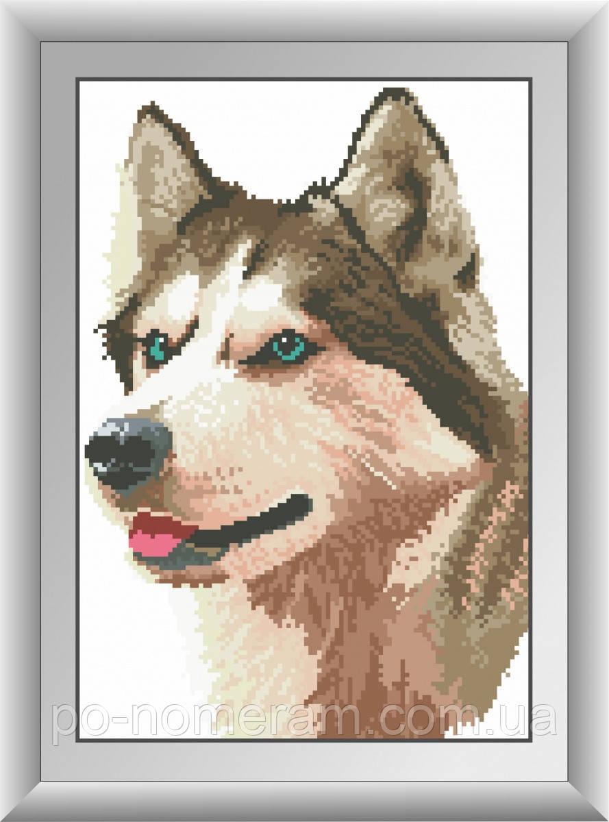 Алмазная живопись Dream Art Лайка (квадратные камни, полная зашивка) (DA-30499) 26 х 37 см (Без подрамника)