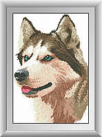 Алмазная живопись Dream Art Лайка (квадратные камни, полная зашивка) (DA-30499) 26 х 37 см