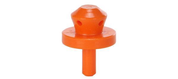 Головка промывочная оранжевая