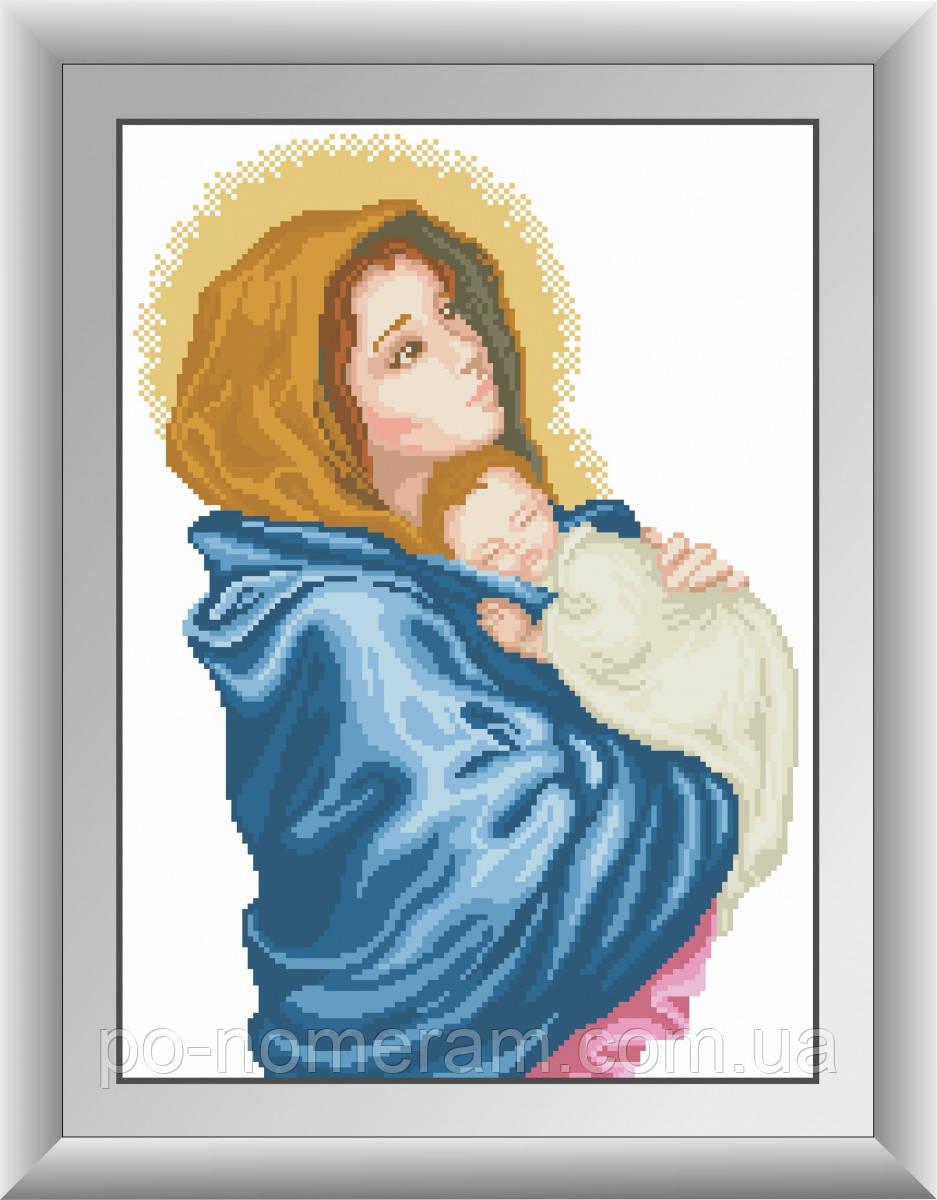 Набор алмазная мозаика Dream Art Богородица (квадратные камни, полная зашивка) (DA-30512) 32 х 44 см (Без подрамника)