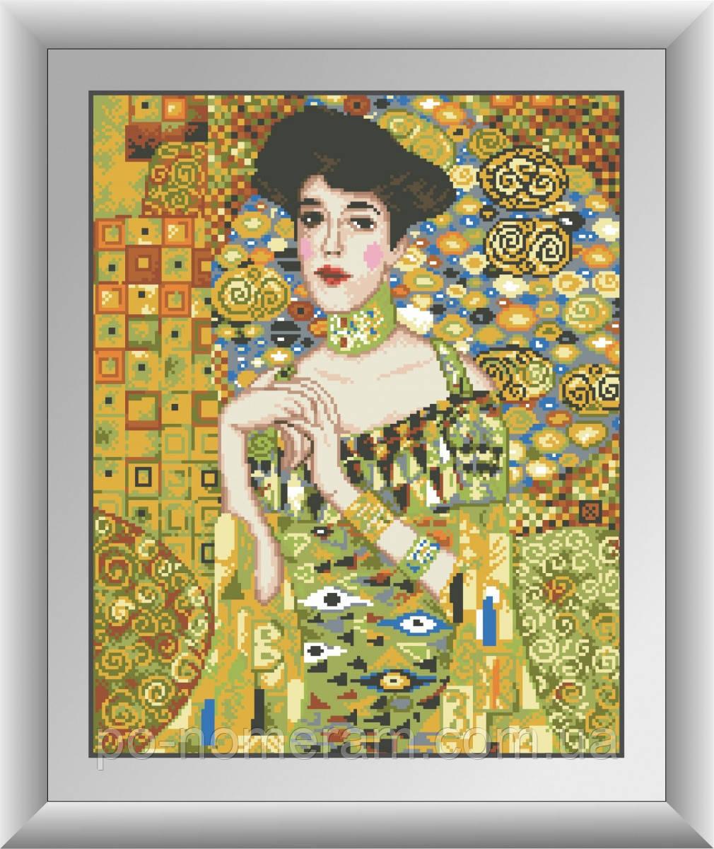 Алмазная живопись Dream Art Портрет Адели Блох-Бауэр (квадратные камни, полная зашивка) (DA-30519) 40 х 50 см (Без подрамника)
