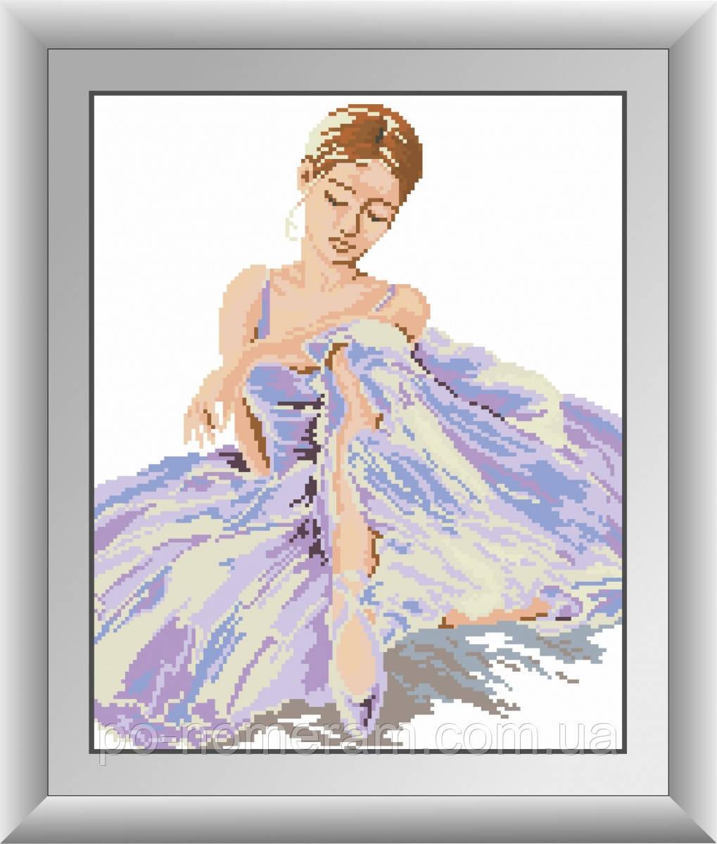 Набор алмазная мозаика Dream Art Балерина (квадратные камни, полная зашивка) (DA-30532) 34 х 42 см (Без подрамника)