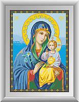 Набор алмазная мозаика Dream Art Икона Божьей Матери Неувядаемый цвет (квадратные камни, полная зашивка) (DA-30533) 51 х 71 см