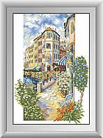 Картина алмазная вышивка Dream Art Цветущий город (квадратные камни, полная зашивка) (DA-30534) 40 х 59 см