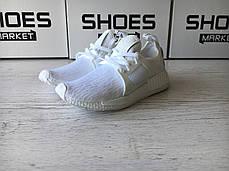 Мужские кроссовки Adidas NMD XR1 Primeknit White BB1967, Адидас НМД, фото 3