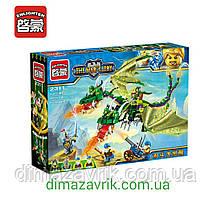 """Конструктор Brick Enlighten 2311 The War of Glory """"Двухглавый дракон"""" 469 деталей"""