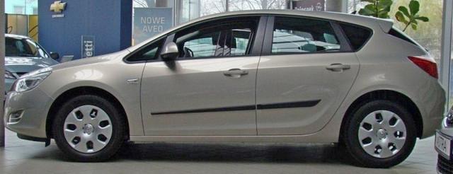 F-27 Door moldings Opel Astra J 2009-2015