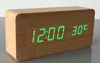 Часы электронные деревянные настольные VST-862