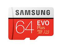 Карта памяти  Samsung microSDHC 64GB EVO Plus UHS-I Class 10 (MB-MC64GA/APC / MB-MC64GA/RU)