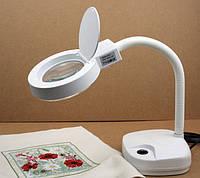 Лампа-лупа ZD-122 LAMP увеличительная для рукоделия и косметологии