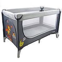 Манеж-кровать CARRELLO Piccolo+ CRL-9201 Grey KK