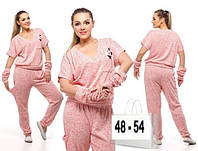 Спортивный костюм (42-46, 48-54) —  трикотаж купить оптом и в Розницу в одессе 7км