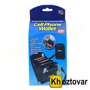 Кошелек Cell Phone Wallet 4 в 1 | Чехол-кошелек для телефона