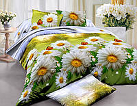 Комплект постельного белья семейный ранфорс 100% хлопок. (арт.6186)