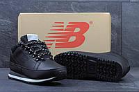 New Balance 754 мужские зимние кроссовки черные с белым 5dd3925563ed5