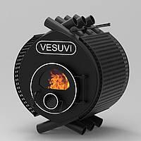 """Булерьян канадская печь VESUVI """"Classic 01"""" 200 м3 (стекло + защитный декор кожух)"""