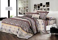 Комплект постельного белья семейный ранфорс 100% хлопок. (арт.7917)