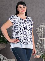 Ультра модная блуза больших размеров