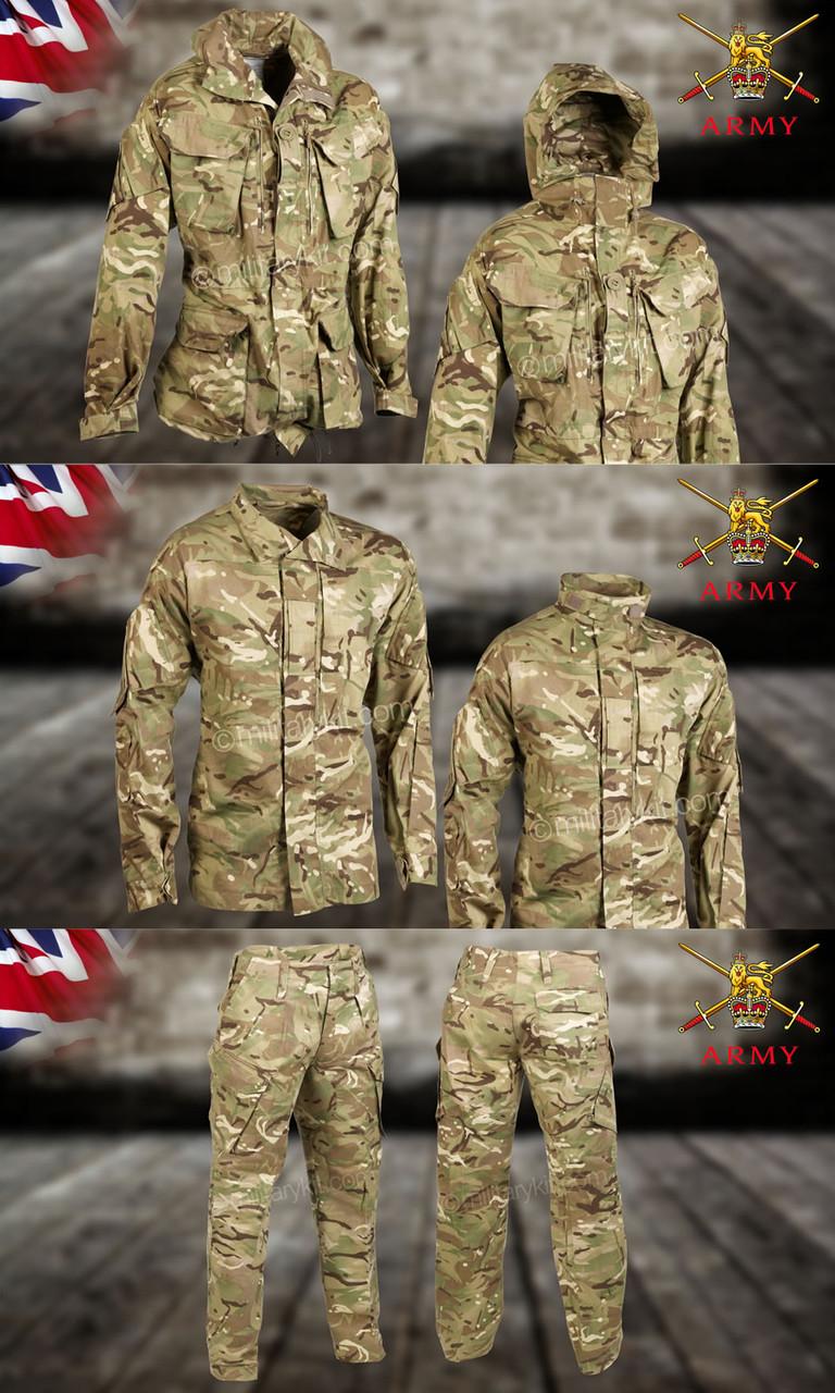 Комплект брюки + китель + куртка оригинал ВС Великобритании 1 сорт - MTP
