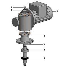 Мотор-редуктор мешалки DRU, Mi40 комплект
