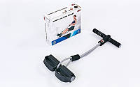 Эспандер многофункциональный для фитнеса 2-х полосный SOLEX BB-400EG-B TUMMY ACTION ROWER (латекс, l-53 см)