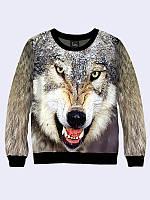 Женский свитшот Волк