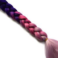 Канекалон в косичках-искусственные волосы из канекалона, боксерские косички, boxer braids- Омбре №38