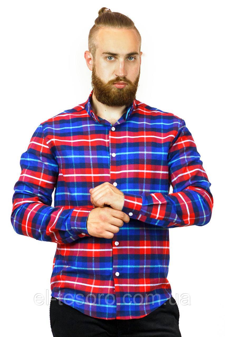Рубашка Maksymiv S-109-1 2XL Красный