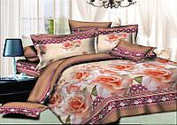 Комплект постельного белья семейный ранфорс 100% хлопок. (арт.7925)