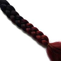 Косы из цветного канекалона-искусственные волосы из канекалона, боксерские косички, boxer braids- Омбре №5, фото 1