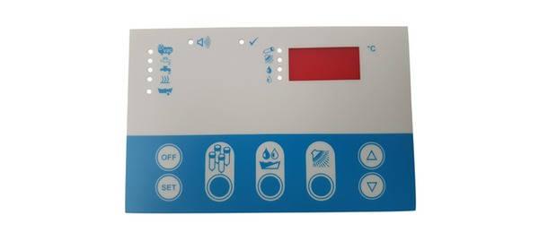 Плёнка дисплея термостат-регуляторa EASI-WASH, фото 2