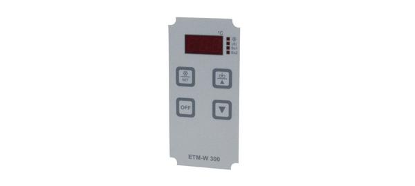 Плёнка дисплея термостат-регуляторa ETM-W300
